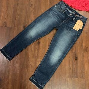 Lucky 🍀 Brand Lolita Crop Jeans